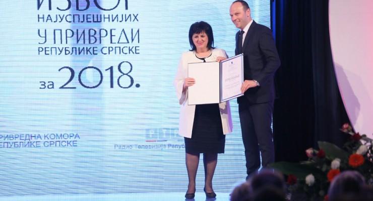 Elnos BL_nagrada Privredna komora RS